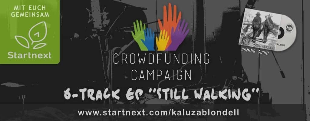 Crowdfunding Kampagne EP Still Walking
